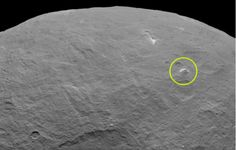 NASA Found a Three-Mile High Pyramid Towering Over Mysterious Planet Ceres: Dawn will move from 2,700 miles above Ceres to just 900 at the end of this month. NASA's hoping more close up photos will help solve the mystery.
