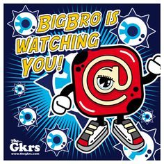 We're all under surveillance!! Big Bro is watching you!