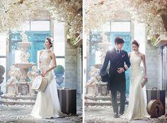 Korean Studio Pre-Wedding Photography: 2016 Romantic Vintage Collection by Bong Studio on OneThreeOneFour 13