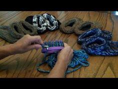 Cozy Slipper Socks Loom pattern- Start to Finish - YouTube