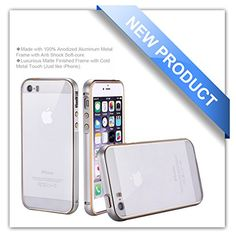 iPhone 5S Case, iPhone 5 Case, Zio [Aluminum Metal Frame] [All Clear Scratch-Resistant Clear Back Cover] [Shock Absorbent] 5S/5 Case [Iron Bumper] [2015 Model] (iPhone 5S/5-Silver) Zio http://www.amazon.com/dp/B00X5O6TLM/ref=cm_sw_r_pi_dp_4D2Nvb019CQXT