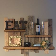 Check out this project on RYOBI Nation - I was looking to eat up some space on a wall over our dining room table and came up with this. My wife and her friends loved it and it looks great in our country rustic home.