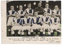 #BlackburnRoversFC 1949-50