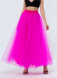 Tutu Good To Be True Tulle Maxi Skirt