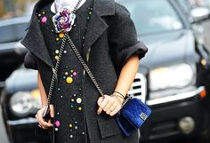 Style Guides: Accessories Street Style Paris Fashion Week