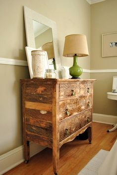 Elegant & Fresh: Guest Room Dresser
