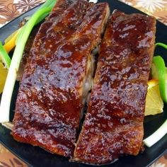 Sticky Zesty Thai Glazed Spareribs - Sticky & spicy, these ribs are hard to stop eating