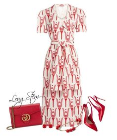 5/24/17 by longstem on Polyvore featuring Miu Miu, Gucci, Accompany, Les Néréides and Napier