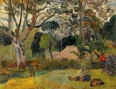 A Bogotá tree, Paul Gauguin.