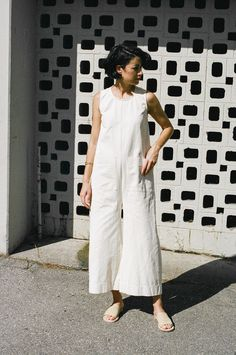 a77a1c5f048 Ilana Kohn Harry Jumpsuit - natural Cream Jumpsuit