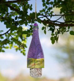 Purple #Recycled #Bottle #Wind #Chime wind chime, bottl wind, recycled bottles, recycl bottl