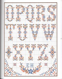 Embroidery Sampler, Ribbon Embroidery, Cross Stitch Embroidery, Embroidery Patterns, Machine Embroidery, Stitch Patterns, Cross Stitch Letters, Quilt Stitching, Alphabet And Numbers