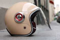 Belvédère® by Les Ateliers Ruby®. Not sure about open face helmets though, since they're not as safe.