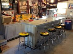 Man cave garages are an essential way for any man to relax and enjoy some much needed alone time. Below are some of our best man cave garage ideas!