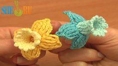 Fuchsia Flower Free Crochet Pattern Tutorial 78 Beautiful 3D Flowers