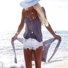 LOVE this style of tank...light and flowy...Great for dressing up or down. More                                                                                                                                                                                 More
