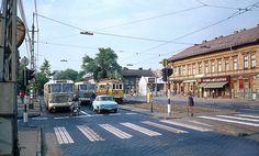 Ilyen is volt Budapest - évek, Váci út a Dráva utcánál Budapest, Old Pictures, Historical Photos, Vintage Photos, Old Things, Street View, History, City, Lego