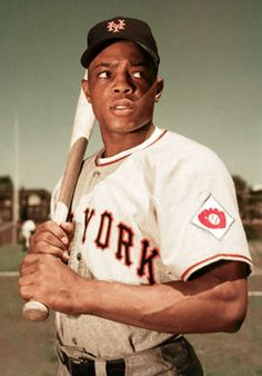Willie Mays, born May 6, 1931 in Mobile, AL, is a retired American professional baseball player who spent the majority of his major league career with the New York and San Francisco Giants before finishing with the New York Mets. He was elected to the Baseball Hall of Fame in 1979 in his first year of eligibility. Mays was nicknamed The Say Hey Kid.