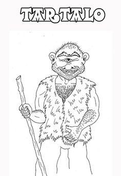 Irudiak margotzeko - Mitología de Vasconia