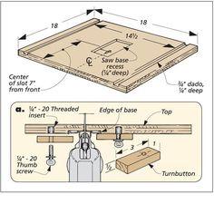 Jig Saw Table | Woodsmith Tips