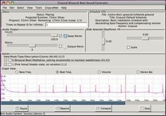 Powerful appfor creating binaural beats. Java so should run just about anywhere. Beats Audio, Free Opening, Binaural Beats, Open Source, Java, Software