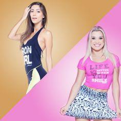 Meninas, na hora do treino, vocês vão de #Labellamafia ou #PinkGym? #Fitness #Hardcoreladies #pinkgymladies