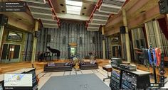 Mr Droogle originally shared to Google Street View Highlights:   Check out Real World Studios - the music studio owned by Peter Gabriel - with Street View.  Pretty cool!    #StreetView #music #studio
