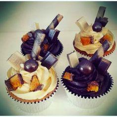 Chocolate & Vanilla Cup Cakes