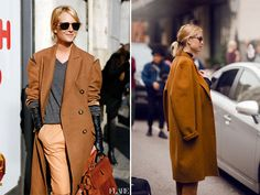 Cool weather isn't too far off soit's time for a little camel coat eye candy to get us excited for fall.Every woman should own at least one camel coat in their closet, wouldn't you agree?