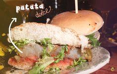 Vegan burger di patata dolce - Ossido, Roma