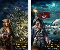 Arriva su App Store Pirates Of The Caribbean: Tides of War