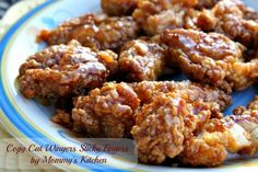 Mommy's Kitchen -: Copy Cat Wingers Sticky Fingers