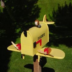 pictures of airplane mailboxes  | Found on tudofacilerapido1.blogspot.com.br
