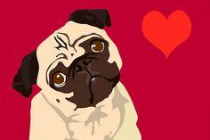 pencil drawings of pugs | Drawing Life: Friday Pug « Kathryn Linge