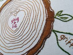 Family Tree Embroidery - PDF Download
