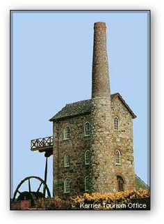 Redruth engine house. Some of my dad's people were from here in Cornwall.