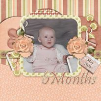 Count On Me One 12x12 Layout Templates