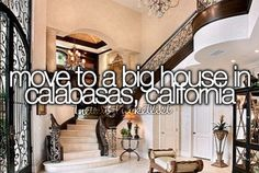 Move to a big house in Calabasas, California. Or England either one Calabasas California, California Dreamin', Calabasas Homes, Bucket List For Teens, Property Design, Big Houses, Dream Houses, Before I Die, House Goals