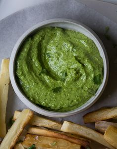 Yucca Fries with Peruvian Aji. This is the best thing ever. Peruvian Dishes, Peruvian Cuisine, Peruvian Recipes, Cuban Recipes, Vegetarian Recipes, Cooking Recipes, Healthy Recipes, Grilling Recipes, Yucca Fries