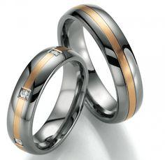 Titan Gelbgold Hochzeitsringe by verlobungsring.de  liebe  hochzeit  glück 1a26eb4bcc