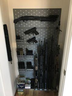 The Gun Room Picture Thread - Page 26 - Hidden Gun Storage, Weapon Storage, Secret Storage, Airsoft Guns, Weapons Guns, Guns And Ammo, Hidden Door Bookcase, Hidden Doors, Gun Safe Room