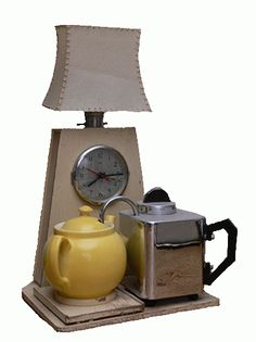 "The Goblin ""Teasmade"" 1936  Tea is made. You get woken up with a pot of tea at your bedside.  Apparently this went out in the 70's"