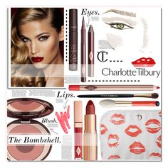 """The Bombshell,"" by cynthia6 ❤ liked on Polyvore featuring beauty, Charlotte Tilbury, Dolce&Gabbana, Ilia, Fall and makeup"