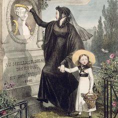 regency child mourning costume