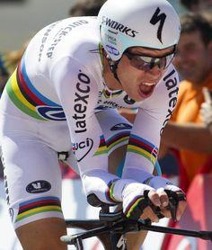Vuelta a España 2014 - Stage 10: Real Monasterio de Santa María de Veruela - Borja (ITT) 36.7km - Tony Martin (Omega Pharma-Quickstep) rides to the stage win in the Vuelta time trial