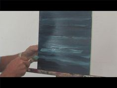 Video: How to Paint Water With Acrylics by Ralph Papa