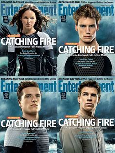 The Entertainment Weekly Catching Fire Interview Highlights