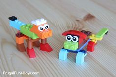 Simple Lego Projects for Beginning Builders