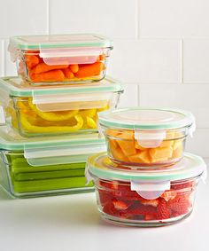 The Container Store > Tip > Food Storage Tips