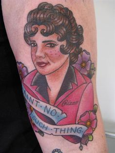 OH MY GOD. //// Betty Rizzo Tattoo
